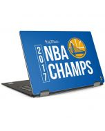 Golden State Warriors 2017 NBA Champs Dell XPS Skin