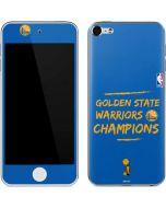 Golden State Warriors 2018 Champions Apple iPod Skin