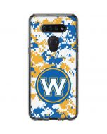 Golden State Warriors Digi Camo LG K51/Q51 Clear Case