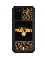 Golden State Warriors Elephant Print Galaxy S20 Waterproof Case
