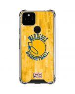 Golden State Warriors Hardwood Classics Google Pixel 5 Clear Case