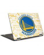Golden State Warriors Historic Blast Dell XPS Skin