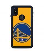 Golden State Warriors Large Logo iPhone X Waterproof Case
