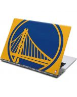 Golden State Warriors Large Logo Yoga 910 2-in-1 14in Touch-Screen Skin