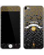 Golden State Warriors Pixels Apple iPod Skin