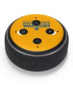 Golden State Warriors Standard - Yellow Amazon Echo Dot Skin