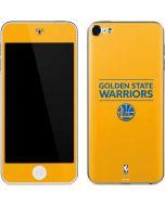 Golden State Warriors Standard - Yellow Apple iPod Skin