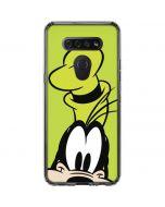 Goofy Up Close LG K51/Q51 Clear Case