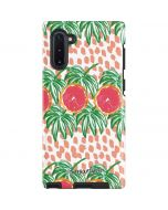 Graphic Grapefruit Galaxy Note 10 Pro Case