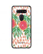 Graphic Grapefruit LG K51/Q51 Clear Case