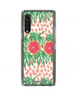 Graphic Grapefruit LG Velvet Clear Case
