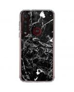 Graphite Black Moto G8 Plus Clear Case