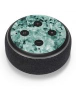 Graphite Turquoise Amazon Echo Dot Skin