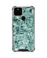 Graphite Turquoise Google Pixel 5 Clear Case