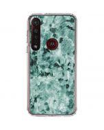 Graphite Turquoise Moto G8 Plus Clear Case