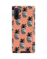 Gray Scale Pineapple Galaxy Note 10 Pro Case