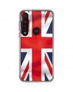 Great Britain Flag Moto G8 Plus Clear Case