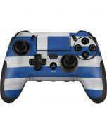Greece Flag Distressed PlayStation Scuf Vantage 2 Controller Skin