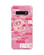 Green Bay Packers - Blast Pink Galaxy S10 Plus Lite Case