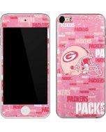 Green Bay Packers - Blast Pink Apple iPod Skin