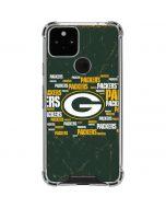 Green Bay Packers Blast Google Pixel 5 Clear Case