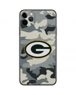 Green Bay Packers Camo iPhone 11 Pro Max Skin