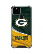 Green Bay Packers Google Pixel 5 Clear Case