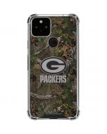 Green Bay Packers Realtree Xtra Green Camo Google Pixel 5 Clear Case