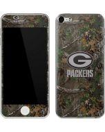 Green Bay Packers Realtree Xtra Green Camo Apple iPod Skin