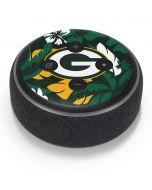 Green Bay Packers Tropical Print Amazon Echo Dot Skin