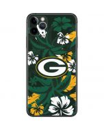 Green Bay Packers Tropical Print iPhone 11 Pro Max Skin