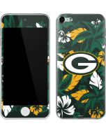 Green Bay Packers Tropical Print Apple iPod Skin