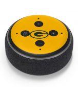 Green Bay Packers Yellow Performance Series Amazon Echo Dot Skin