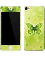 Green Butterfly Apple iPod Skin