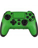 Green Carbon Fiber PlayStation Scuf Vantage 2 Controller Skin