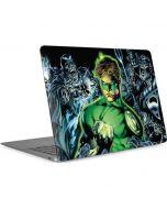 Green Lantern and Villains Apple MacBook Air Skin