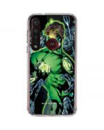 Green Lantern and Villains Moto G8 Plus Clear Case