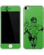 Green Lantern Comic Pop Apple iPod Skin