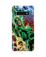 Green Lantern Defeats Sinestro Galaxy S10 Plus Lite Case