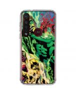 Green Lantern Defeats Sinestro Moto G8 Plus Clear Case