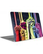 Green Lantern Fists in the Air  Apple MacBook Air Skin