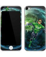 Green Lantern in Space Apple iPod Skin
