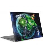 Green Lantern in Space Apple MacBook Air Skin