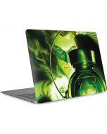 Green Lantern Lamp Apple MacBook Air Skin