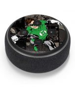 Green Lantern Mixed Media Amazon Echo Dot Skin