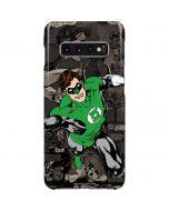 Green Lantern Mixed Media Galaxy S10 Plus Lite Case