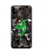 Green Lantern Mixed Media iPhone 11 Pro Max Skin