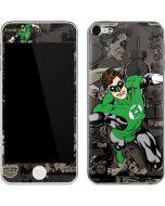 Green Lantern Mixed Media Apple iPod Skin