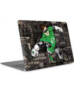 Green Lantern Mixed Media Apple MacBook Air Skin