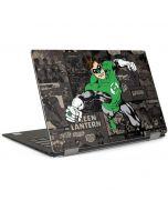 Green Lantern Mixed Media Dell XPS Skin